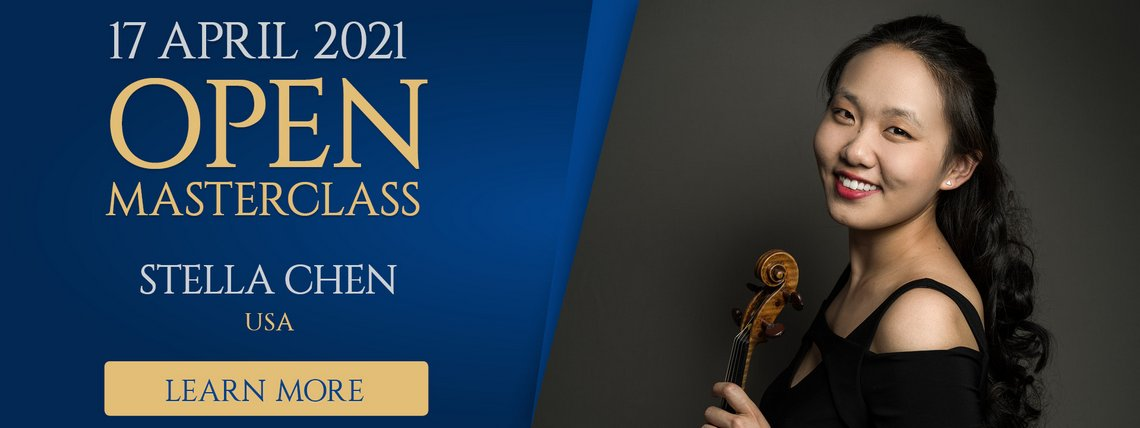 Learn More about open masterclasses with Stella Chen