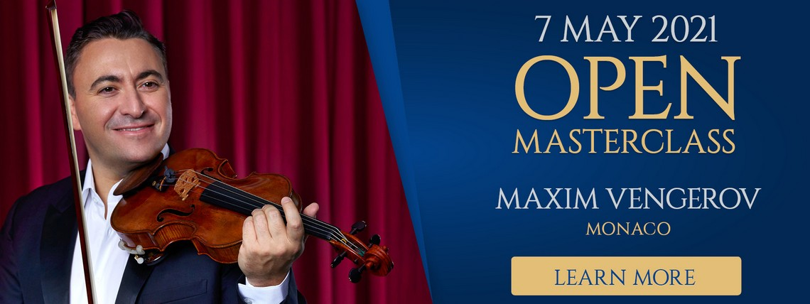Learn More about open masterclasses with Maxim Vengerov