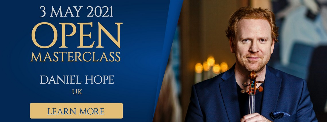 Learn More about open masterclasses with Daniel Hope