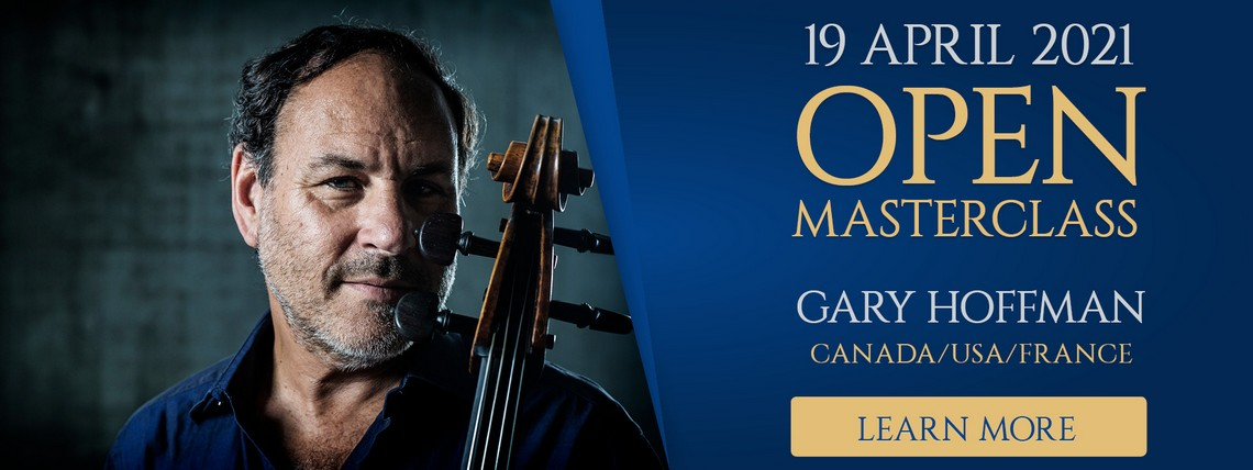 Learn More about open masterclasses with Gary Hoffman